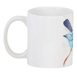 """3D кружка """"Птичка"""" - птица, рисунок, авторский рисунок, синяя птица"""