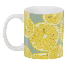 """3D кружка """"лимоны"""" - лето, фрукты, лимон, лимоны, цитрусовые"""