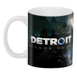 """3D кружка """"Detroit Become Human"""" - detroit, connor, detroit become human, rk800"""