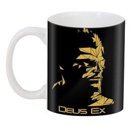 """3D кружка """"Deus Ex"""" - адам дженсен, deus ex, human revolution, дженсен, jensen"""