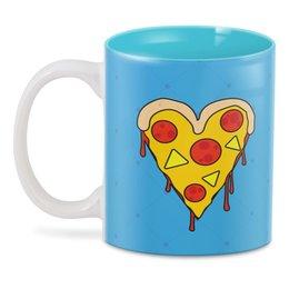 """3D кружка """"пицца"""" - пицца"""