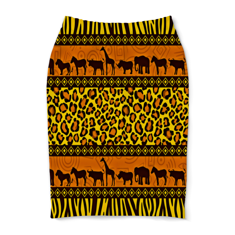 Юбка-карандаш Printio Африка