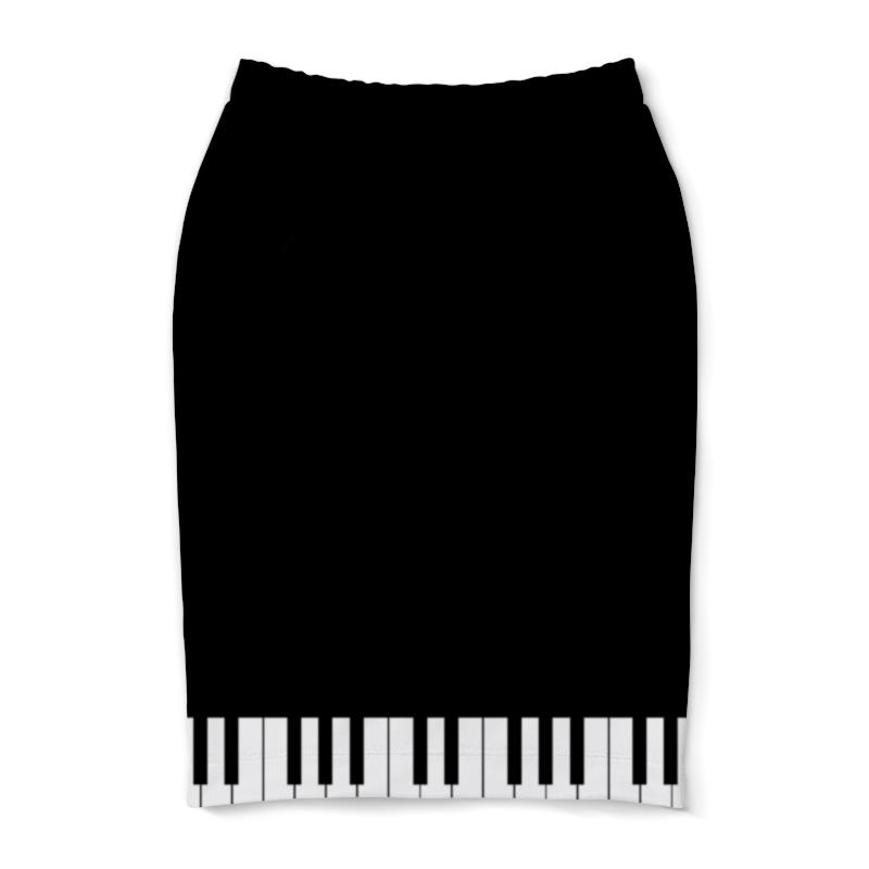 Юбка-карандаш Printio Пианино банкетку для пианино в новокузнецке