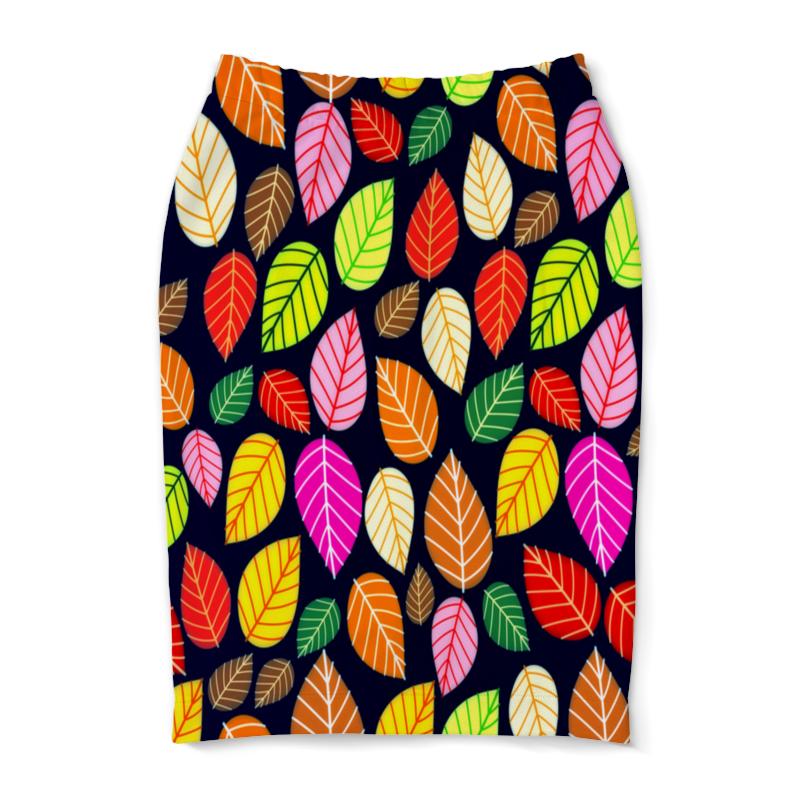 Юбка-карандаш Printio Листва юбка карандаш printio листва