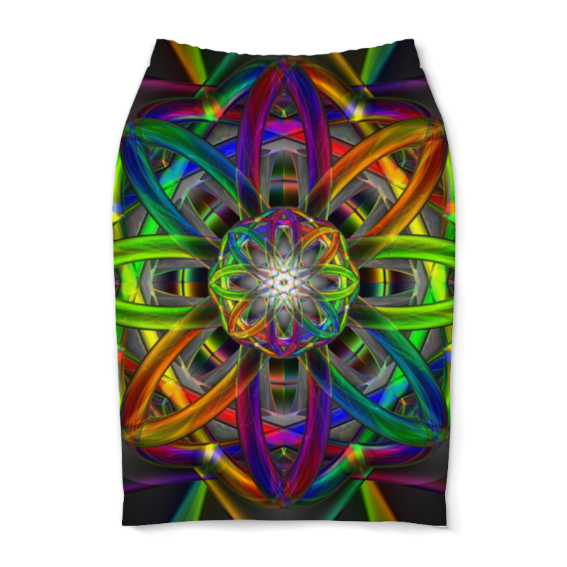 Юбка-карандаш Printio Rainbow dimensions dimensions скалистый берег москва