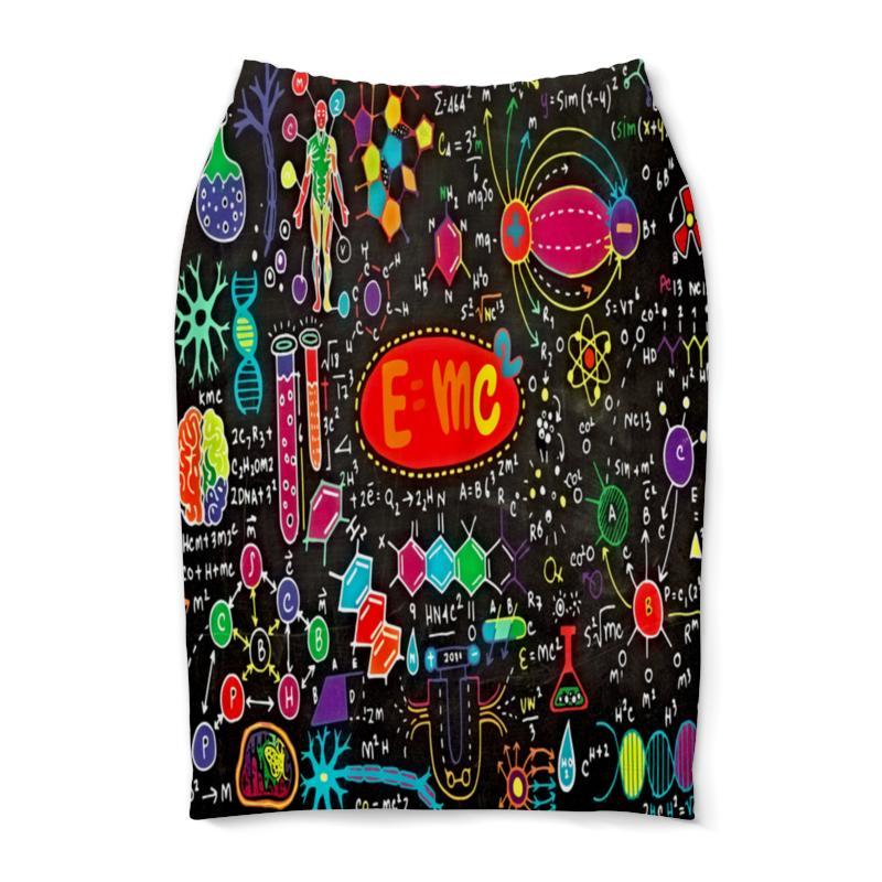Юбка-карандаш Printio Химия юбка карандаш printio химия