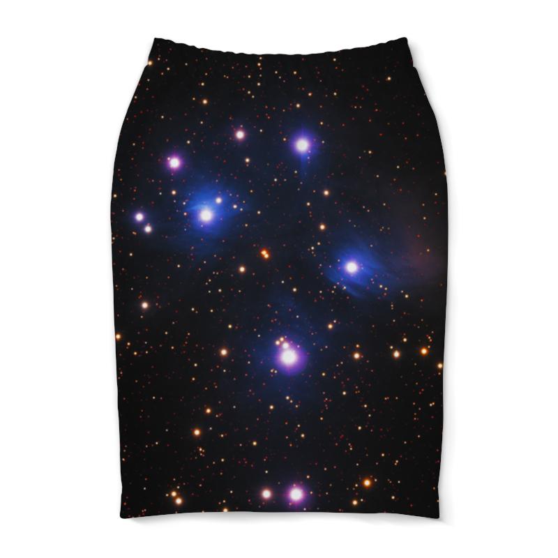 Юбка-карандаш Printio Космос (space) юбка карандаш printio london