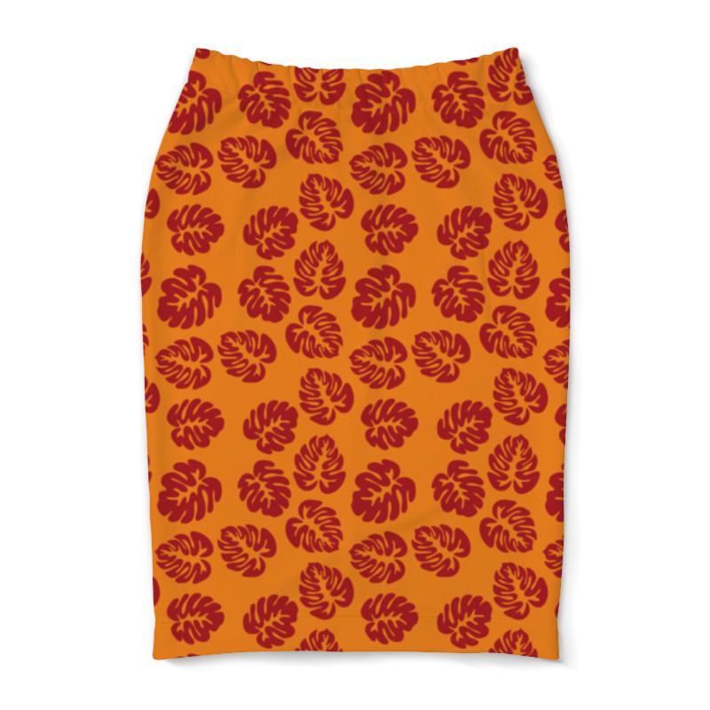 Юбка-карандаш Printio Оранжевое лето футболка рингер printio оранжевое солнце