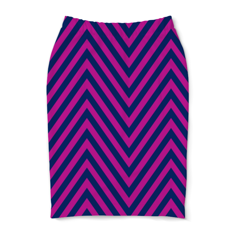 Юбка-карандаш Printio Фиолетовые полосы юбка карандаш printio цветные полосы