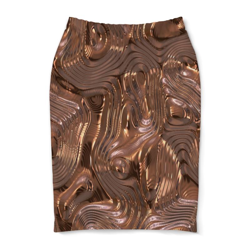 Юбка-карандаш Printio Золотой шелк юбка карандаш укороченная printio золотой шелк