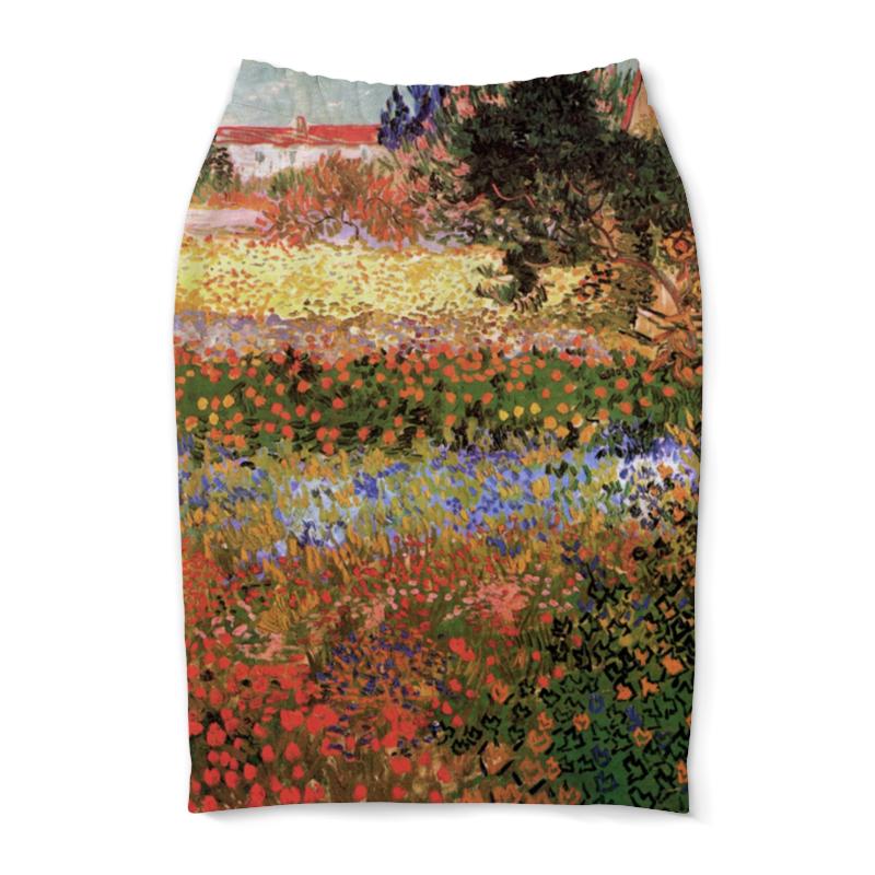 Юбка-карандаш Printio Цветущий сад (винсент ван гог)
