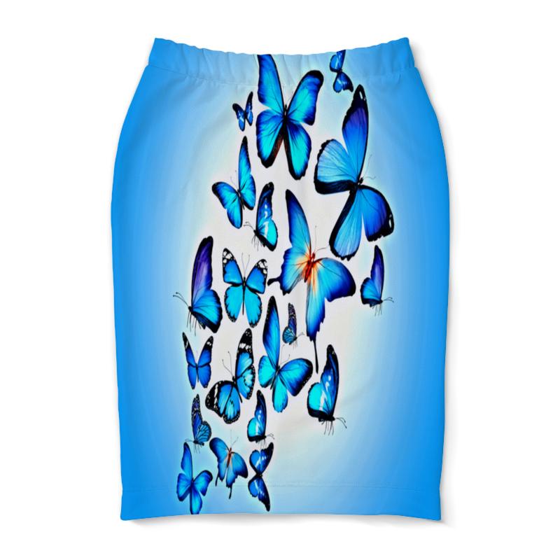 Юбка-карандаш Printio Бабочки юбка карандаш printio пламя