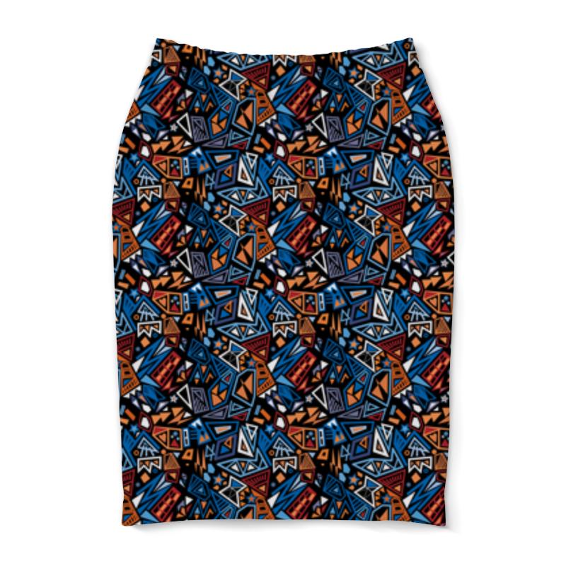 Юбка-карандаш Printio Модный и стильный геометрический паттерн платье летнее printio модный и стильный геометрический паттерн