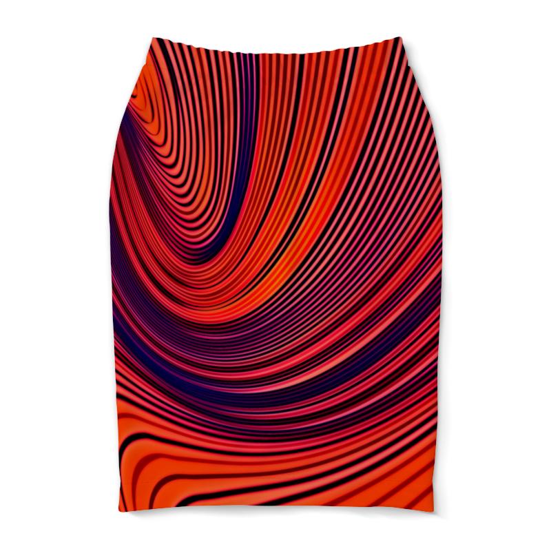 Юбка-карандаш Printio Цветные полосы юбка карандаш printio цветные полосы