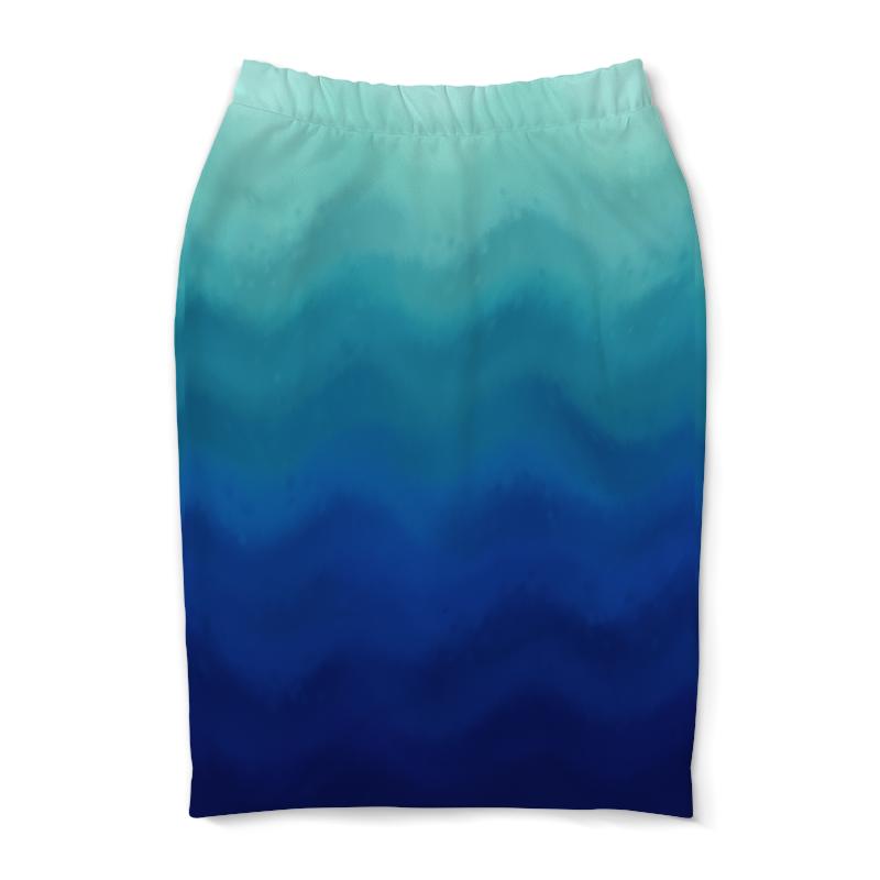 Юбка-карандаш Printio Глубокий океан коровин в океан бога