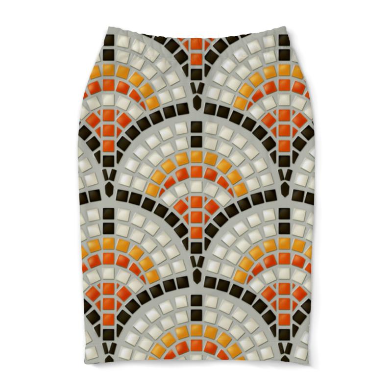 Юбка-карандаш Printio Античная мозаика мозаика elada mosaic jsm jb068 327x327x8 мм античная жатая
