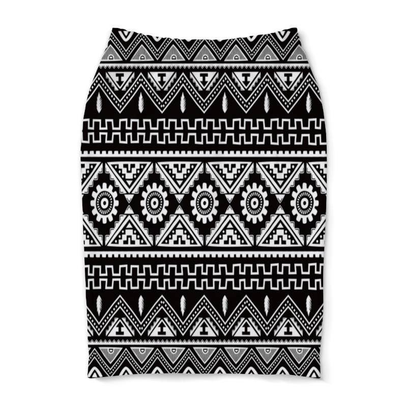 Юбка-карандаш Printio Черно-белая графика юбка белая ido ут 00015983