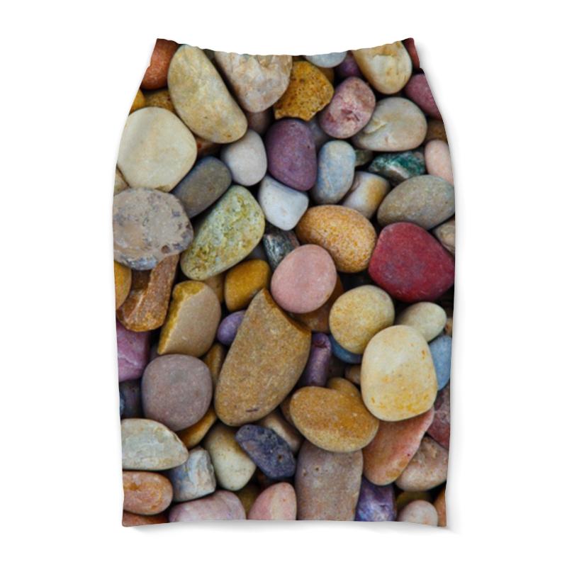 Юбка-карандаш Printio Камни ювелирные камни