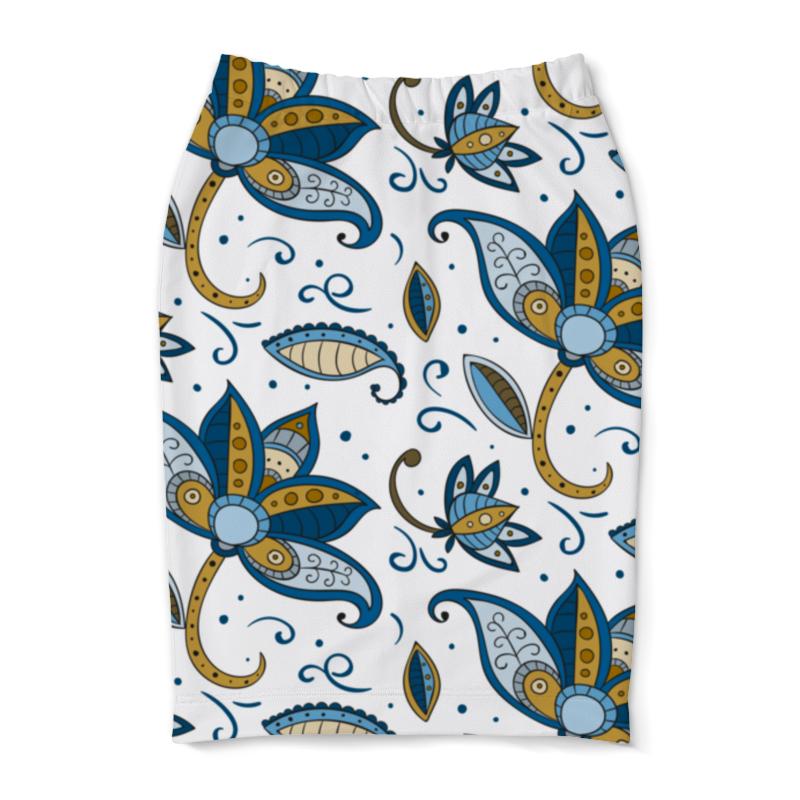 Юбка-карандаш Printio Цветочная юбка карандаш printio цветочная сказка