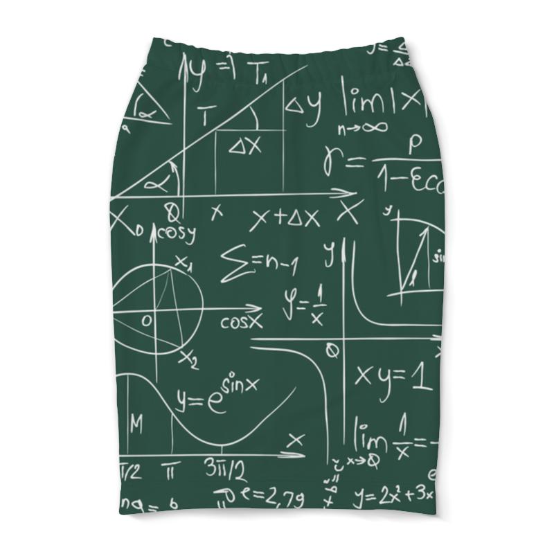 Юбка-карандаш Printio Математика математика