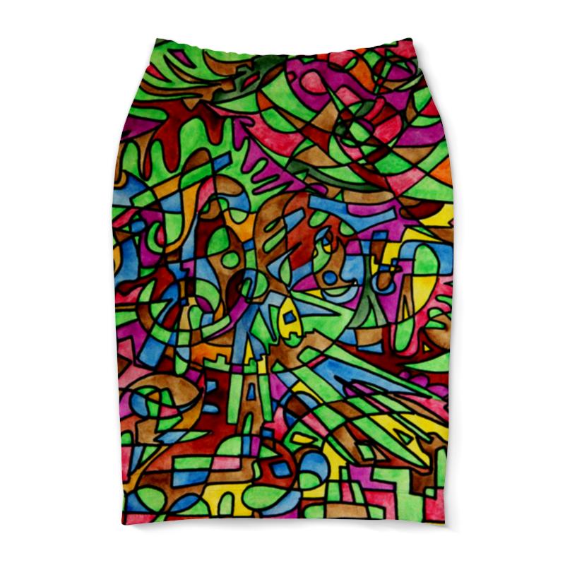 Юбка-карандаш Printio S`s`s-0.w юбка s cool юбка