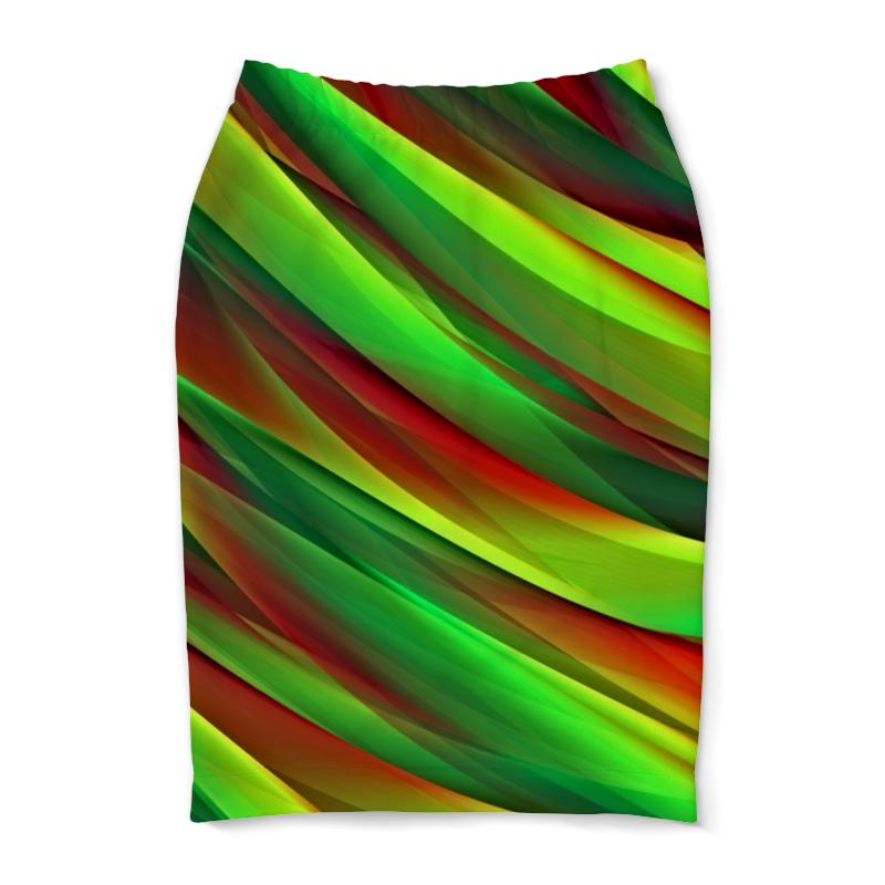 Юбка-карандаш Printio Полосы юбка карандаш printio цветные полосы