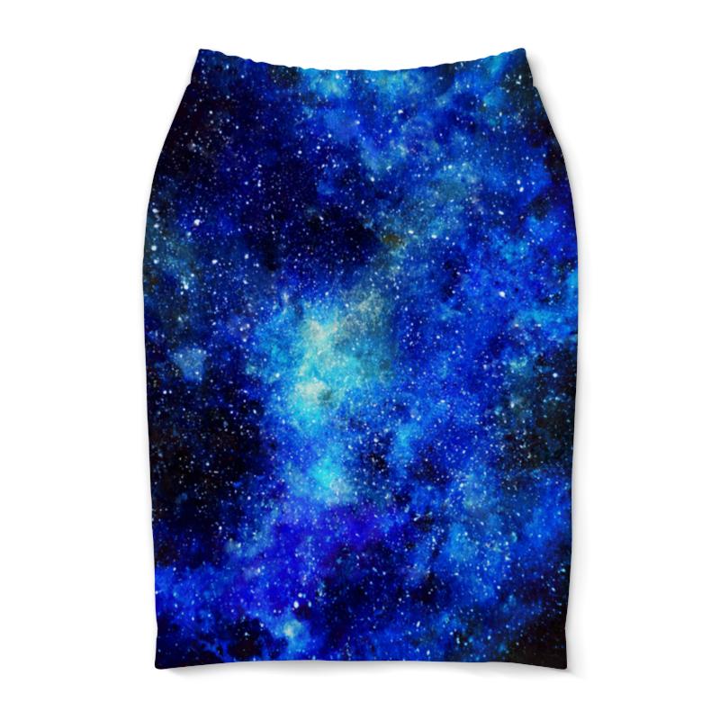 Юбка-карандаш Printio Космос (синий) юбка карандаш printio london