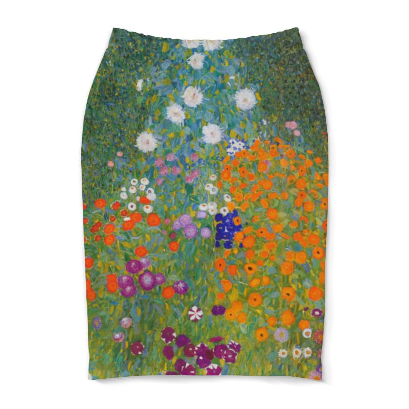 Юбка-карандаш Printio Цветочный сад (густав климт) юбка карандаш printio райский сад