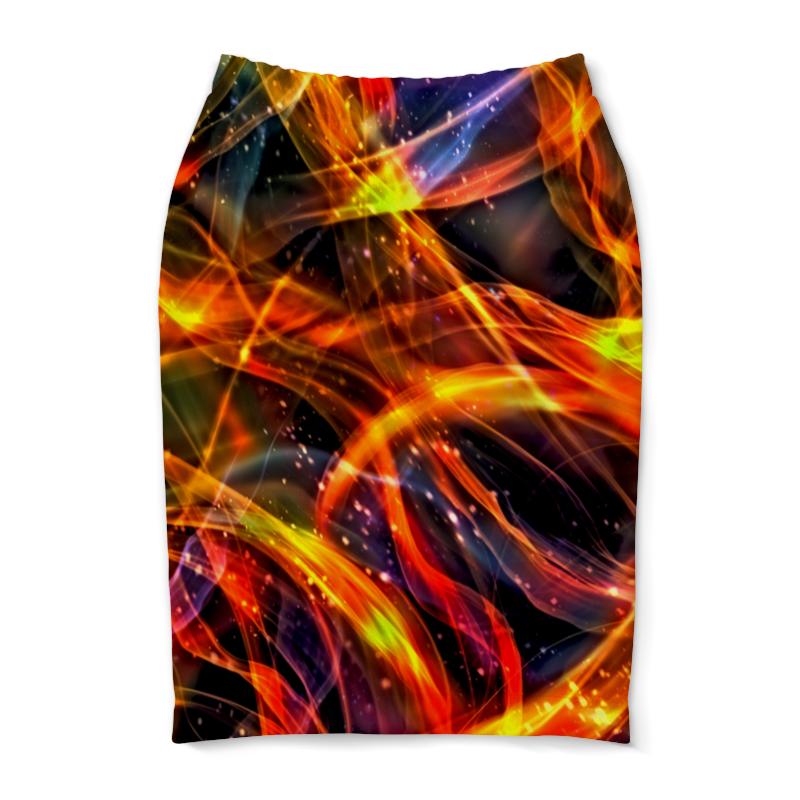 Юбка-карандаш Printio Пламя юбка карандаш printio пламя