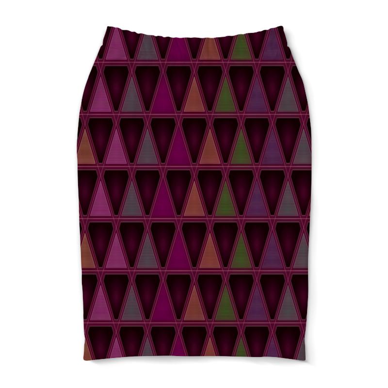 Юбка-карандаш Printio Геометрический юбка карандаш printio райский сад