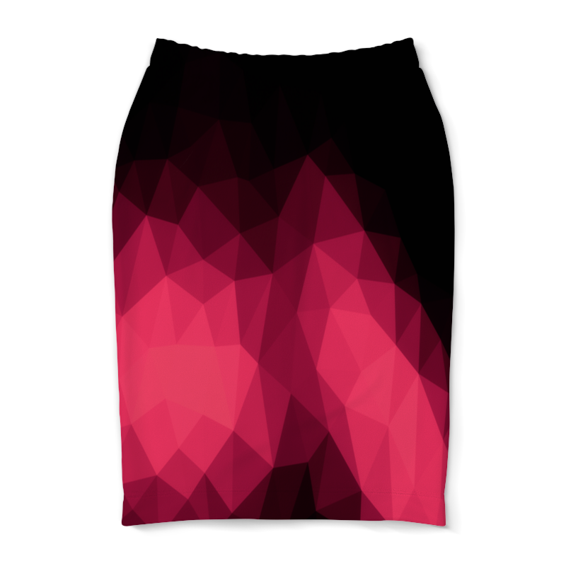 Юбка-карандаш Printio Объемный узор юбка карандаш printio london