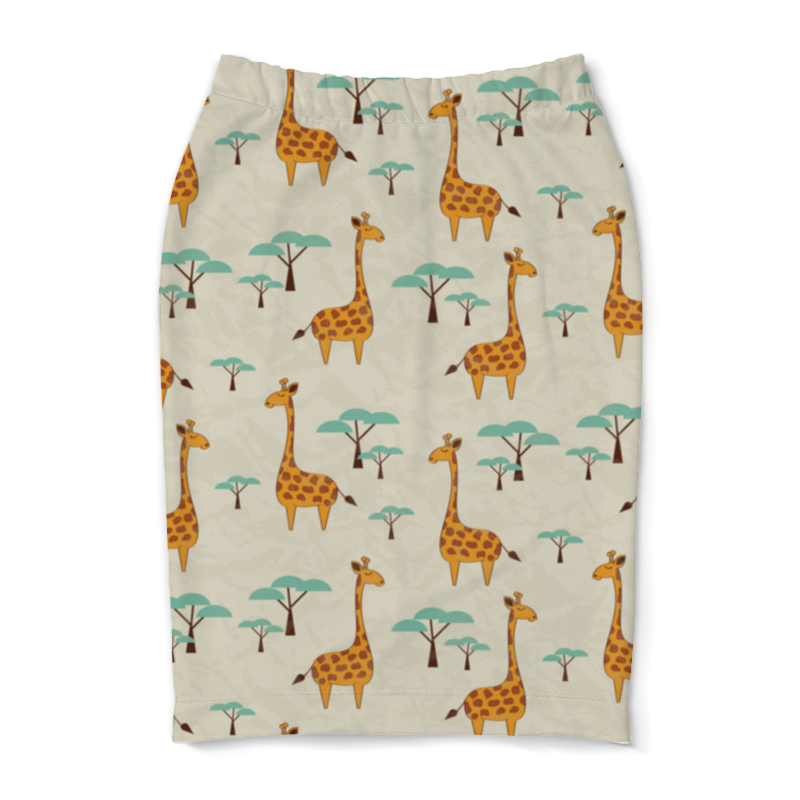 Юбка-карандаш Printio Жирафы lori фоторамки из гипса жирафы