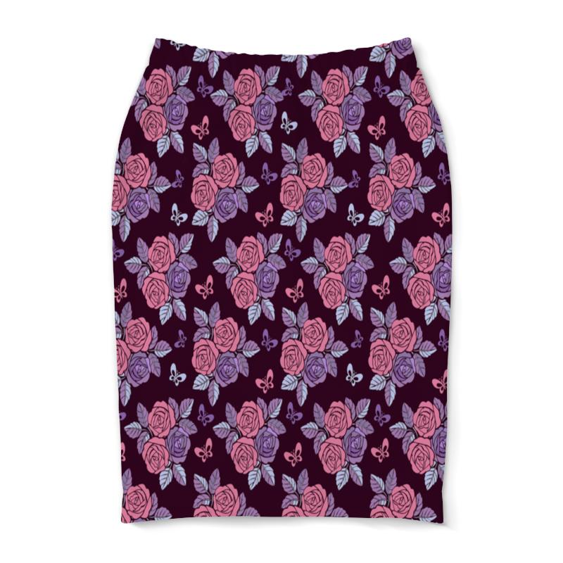 Юбка-карандаш Printio Букеты роз юбка карандаш укороченная printio букеты роз