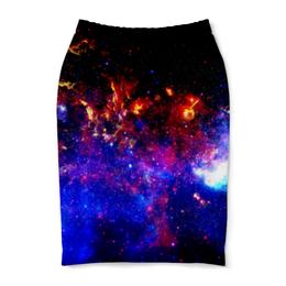 """Юбка-карандаш """"Галактическое путешествие"""" - космос, звезды, вселенная, галактика, thespaceway"""