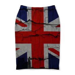 "Юбка-карандаш ""Британский Флаг"" - англия, great britain"