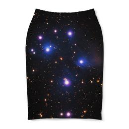 """Юбка-карандаш """"Космос (space)"""" - space, звезды, космос, вселенная, галактика"""