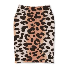 """Юбка-карандаш """"Леопардовый"""" - животные, кошки, леопард, леопардовый"""