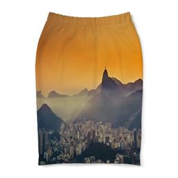 "Юбка-карандаш ""Рио-де-Жанейро"" - мир, страны, города, рио, city"
