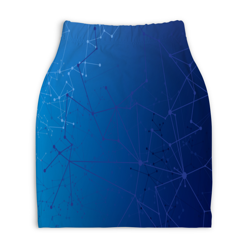Юбка-карандаш укороченная Printio Система юбка карандаш printio химия