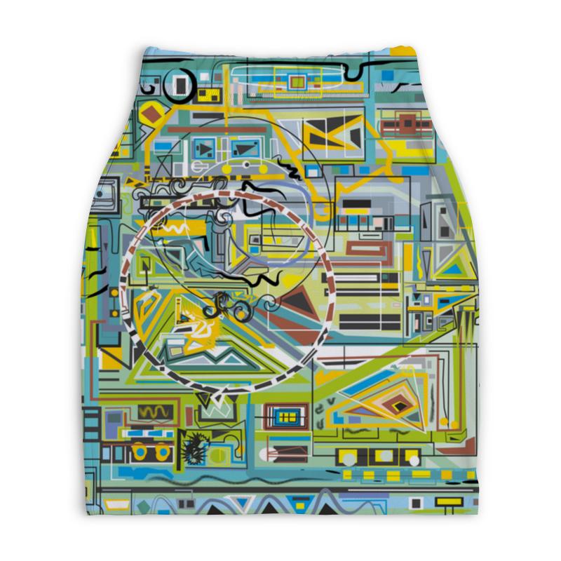 Юбка-карандаш укороченная Printio Березка блокнот printio березка