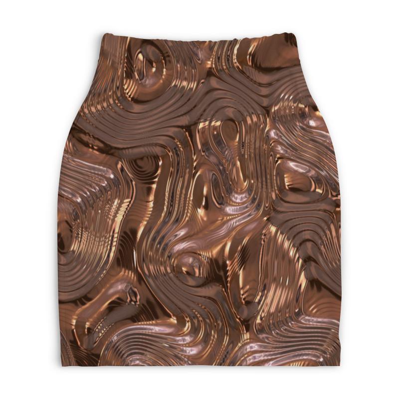 Юбка-карандаш укороченная Printio Золотой шелк юбка карандаш укороченная printio золотой шелк
