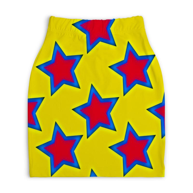 Юбка-карандаш укороченная Printio Звезды атакама атакама звезды