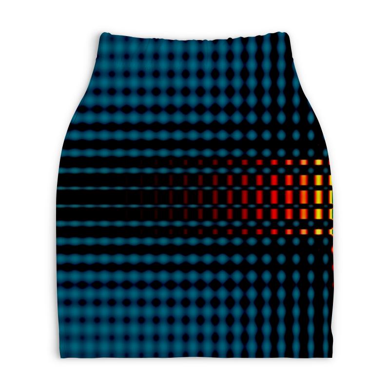 Юбка-карандаш укороченная Printio Ромбики юбка карандаш printio химия