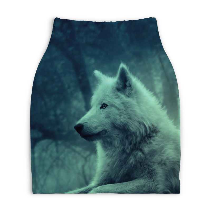 Юбка-карандаш укороченная Printio North star - волк