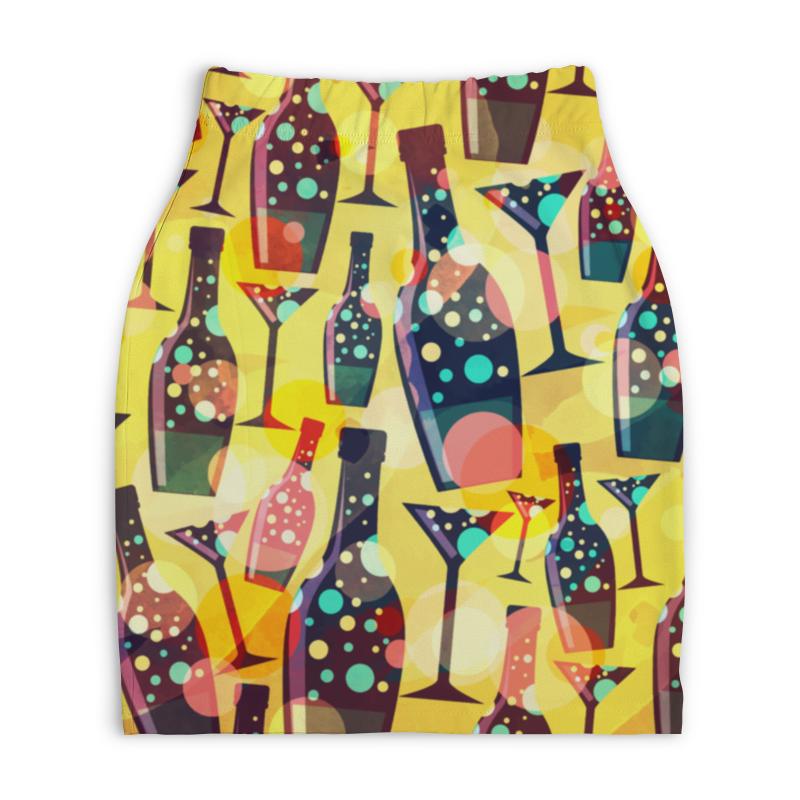 Юбка-карандаш укороченная Printio Для вечеринок юбка карандаш printio london