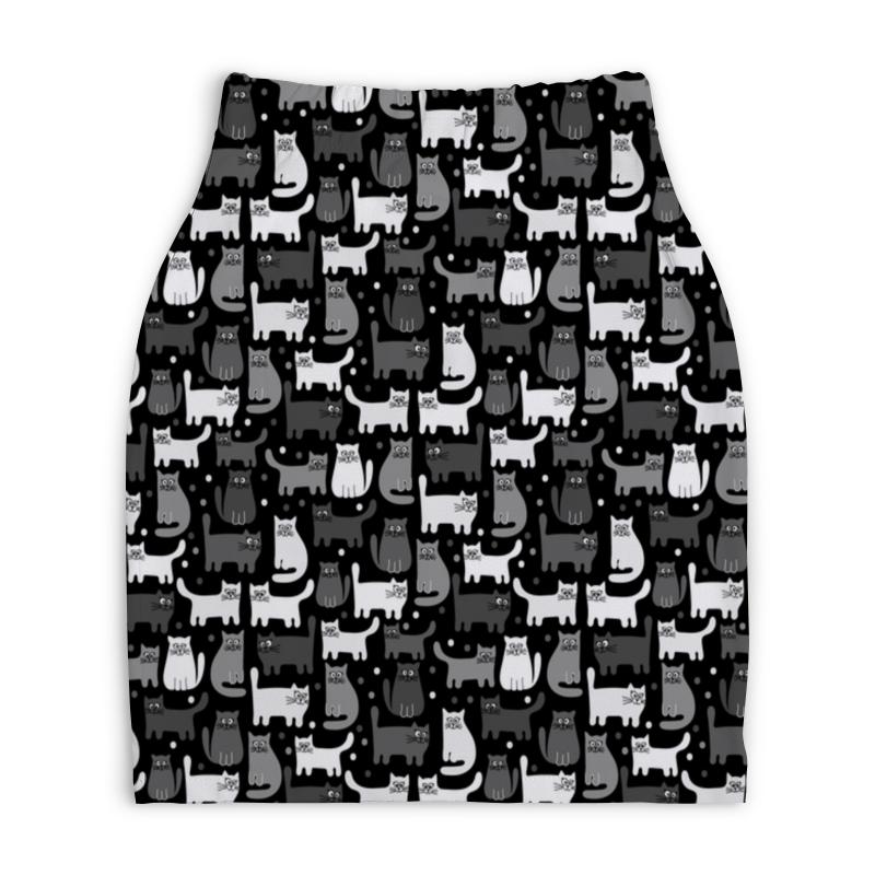 Юбка-карандаш укороченная Printio Котята футболка wearcraft premium printio lada седан 2 by design ministry