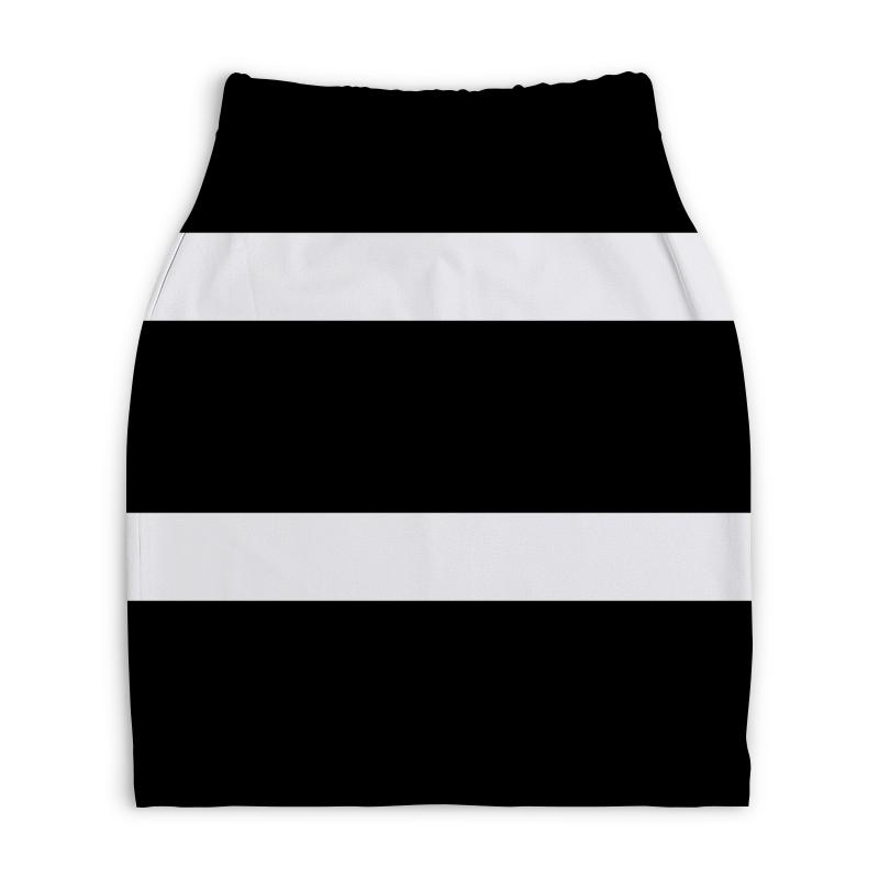 Юбка-карандаш укороченная Printio Юбка-карандаш юбка карандаш укороченная printio белый горох
