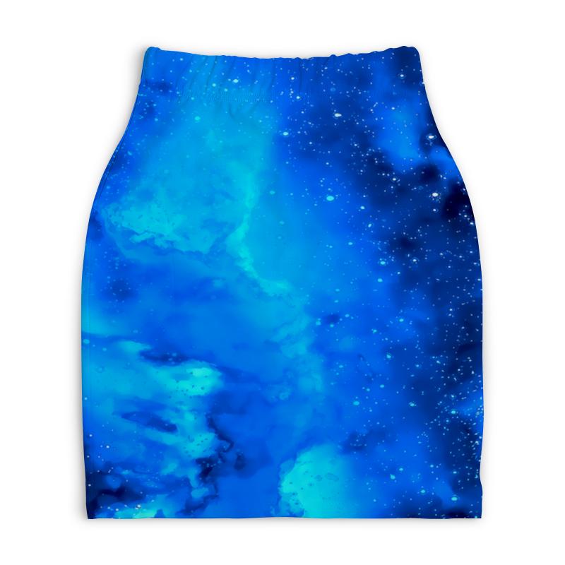 Юбка-карандаш укороченная Printio Звездное небо платье летнее printio звездное небо