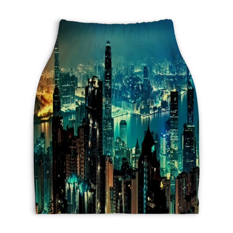 Юбка-карандаш укороченная Printio New york assembly new york мини юбка