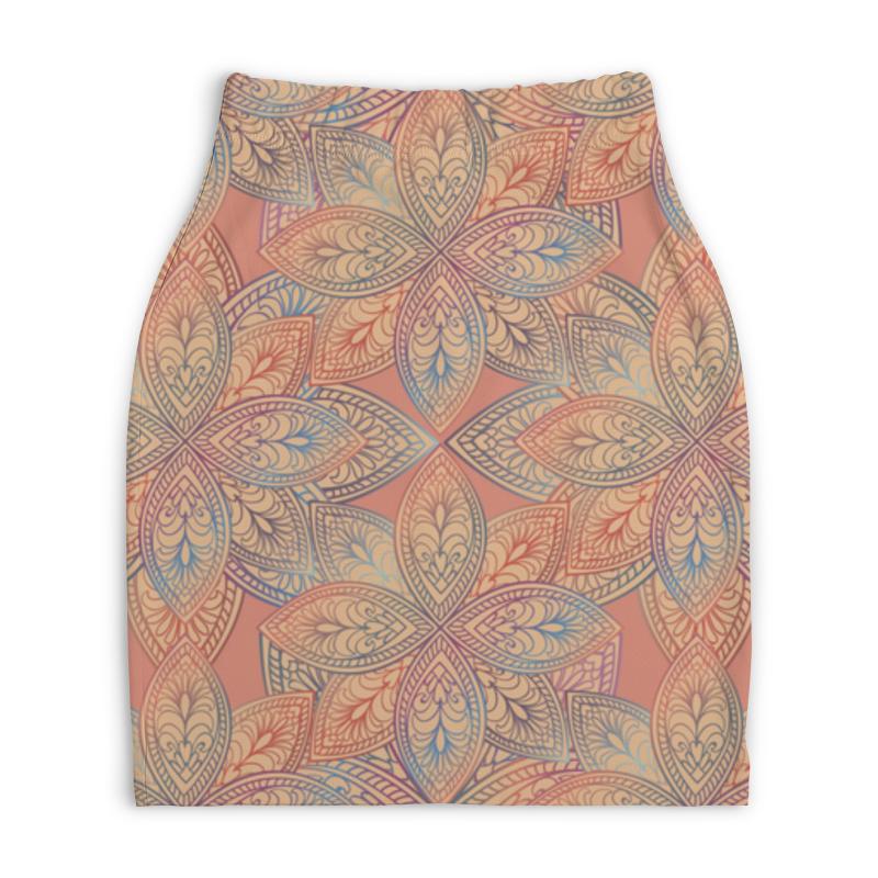 Юбка-карандаш укороченная Printio Орнамент юбка карандаш printio химия